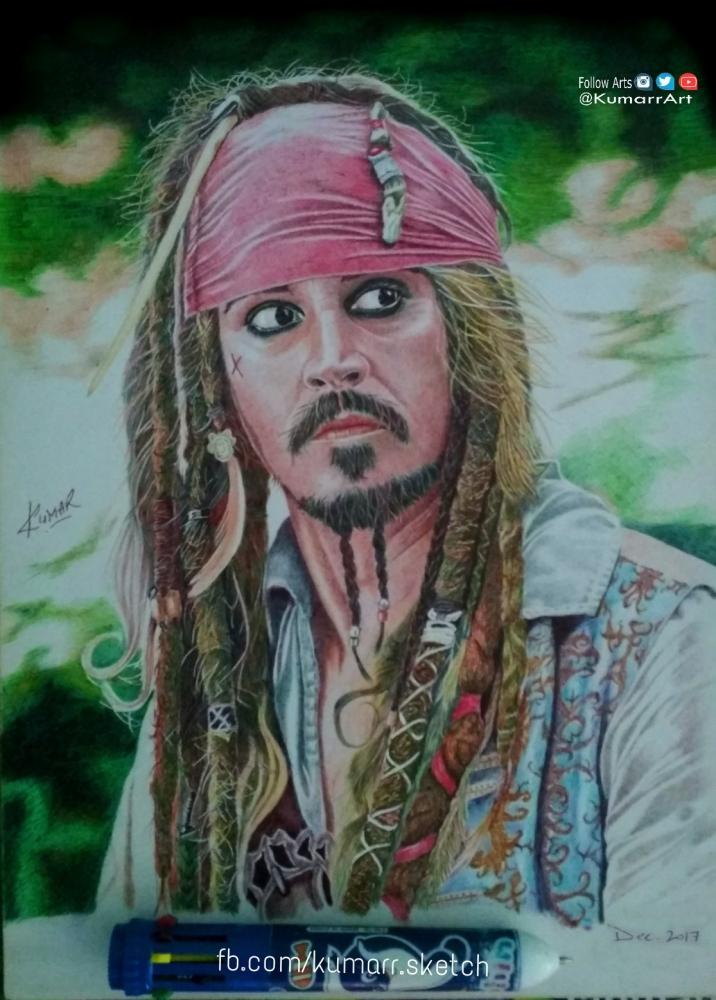 Johnny Depp by Kumarr